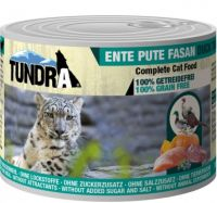 Tundra Katze Nassfutter Pute, Ente & Fasan - 200g